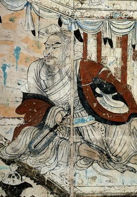 維摩居士(敦煌壁画)